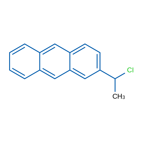 2-(1-Chloroethyl)anthracene
