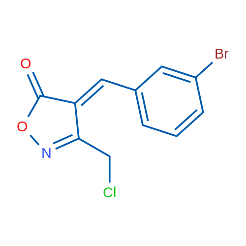 4-(3-Bromobenzylidene)-3-(chloromethyl)isoxazol-5(4H)-one
