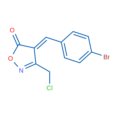 4-(4-Bromobenzylidene)-3-(chloromethyl)isoxazol-5(4H)-one