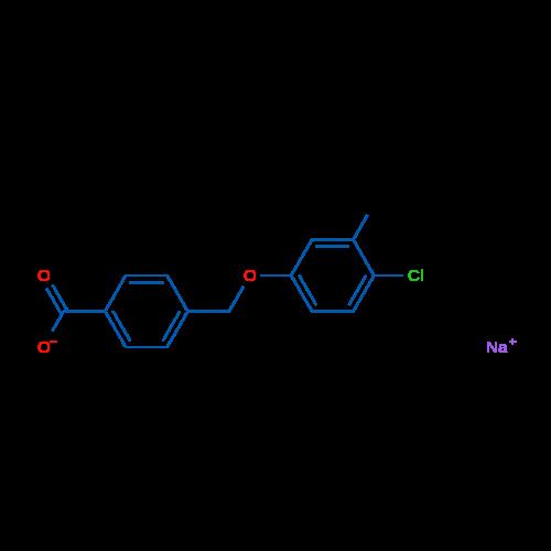Sodium 4-((4-chloro-3-methylphenoxy)methyl)benzoate