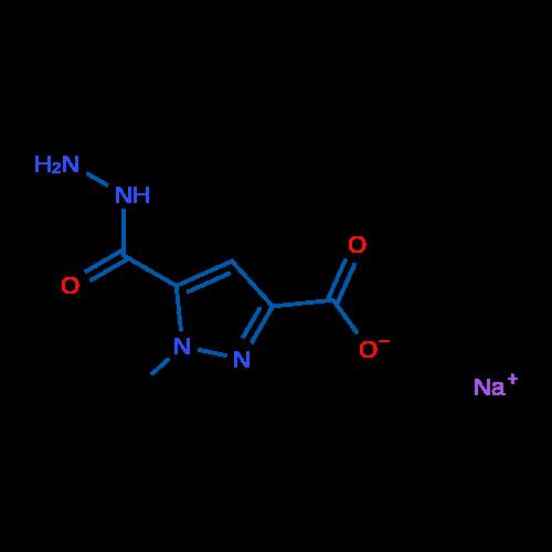 Sodium 5-(hydrazinecarbonyl)-1-methyl-1H-pyrazole-3-carboxylate