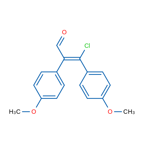 (Z)-3-Chloro-2,3-bis(4-methoxyphenyl)acrylaldehyde