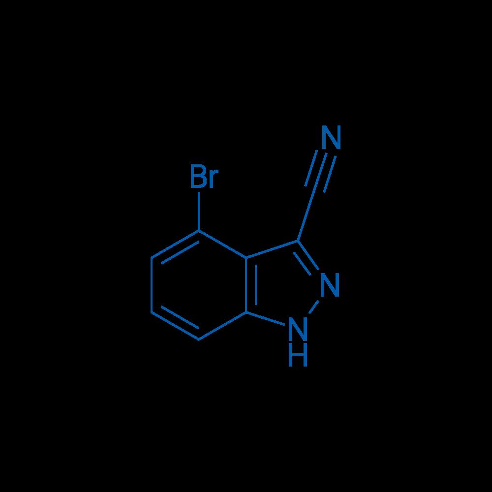 4-Bromo-1H-indazole-3-carbonitrile