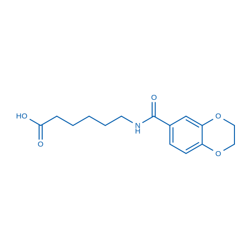 6-(2,3-Dihydrobenzo[b][1,4]dioxine-6-carboxamido)hexanoic acid