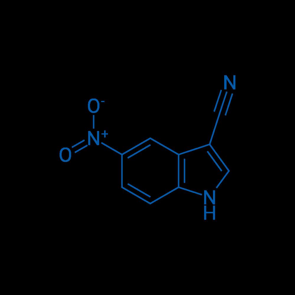 5-Nitro-1H-indole-3-carbonitrile