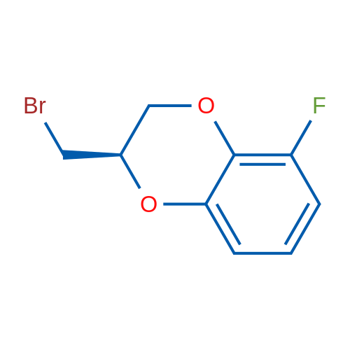 (R)-2-(Bromomethyl)-5-fluoro-2,3-dihydrobenzo[b][1,4]dioxine