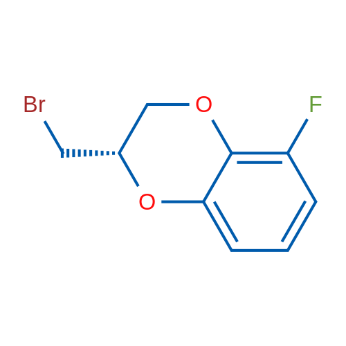 (S)-2-(Bromomethyl)-5-fluoro-2,3-dihydrobenzo[b][1,4]dioxine