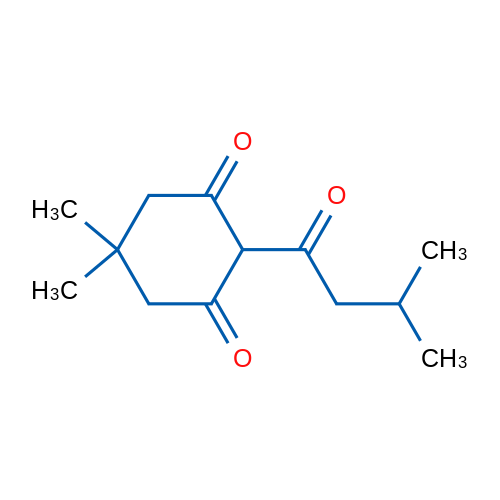 5,5-Dimethyl-2-(3-methylbutanoyl)cyclohexane-1,3-dione