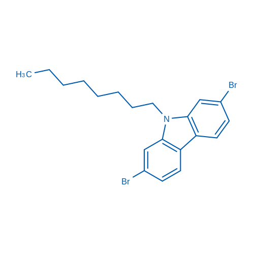 2,7-Dibromo-9-octyl-9H-carbazole