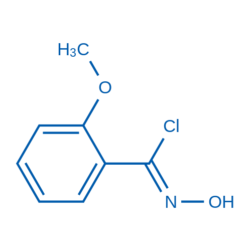 N-Hydroxy-2-methoxybenzimidoyl chloride