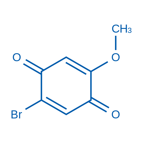 2-Bromo-5-methoxycyclohexa-2,5-diene-1,4-dione