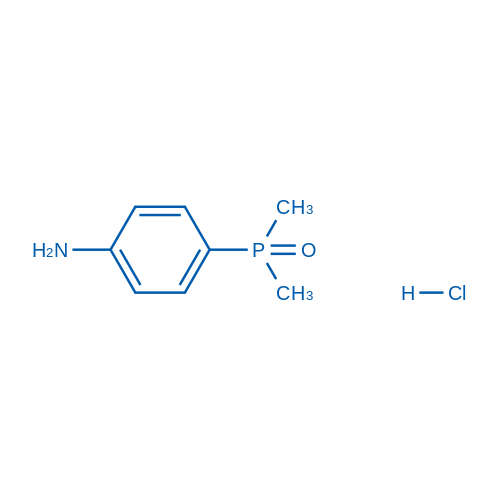 (4-Aminophenyl)dimethylphosphine oxide hydrochloride