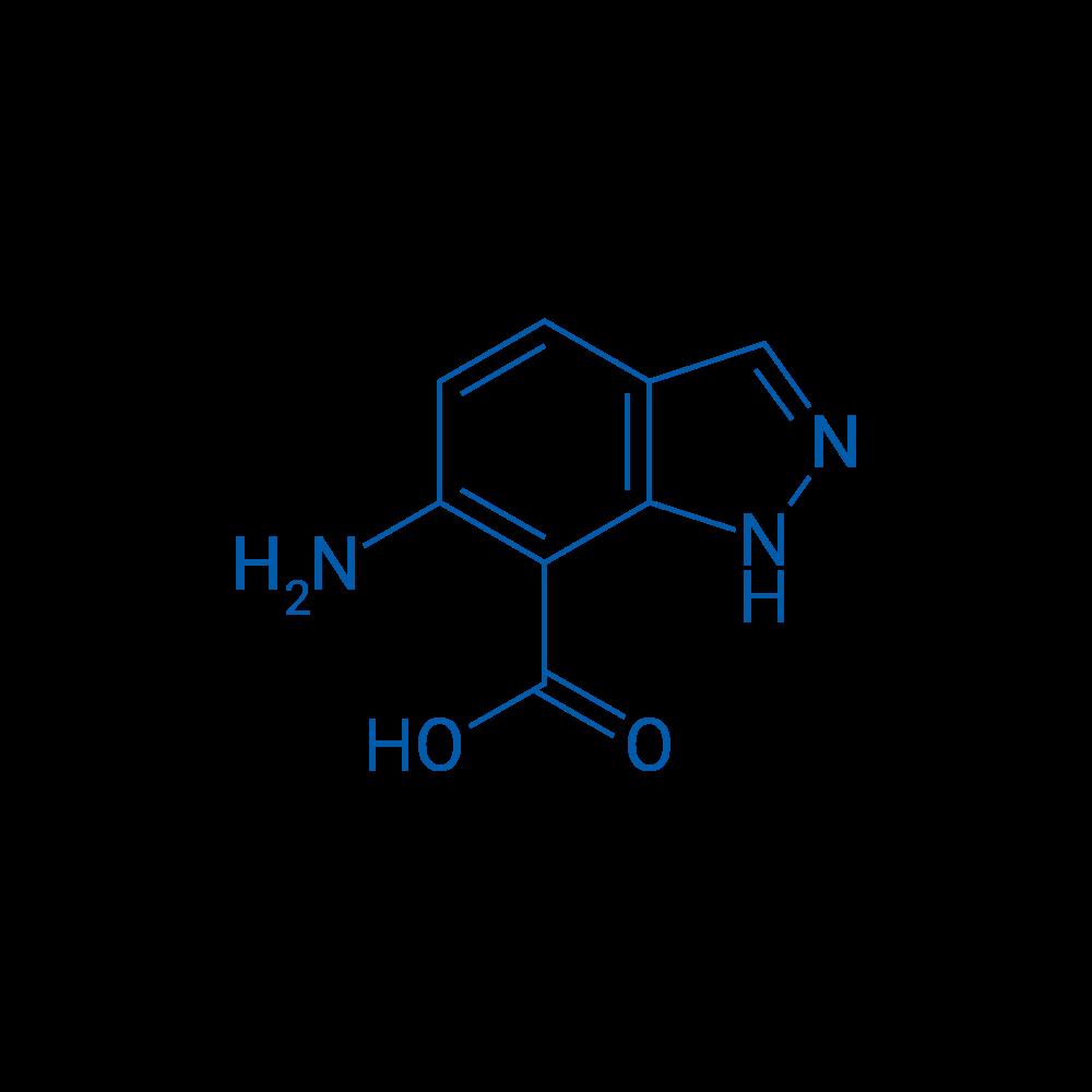 6-Amino-1H-indazole-7-carboxylic acid