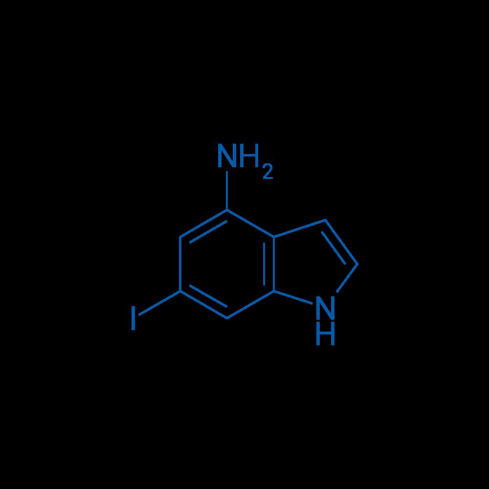 6-Iodo-1H-indol-4-amine