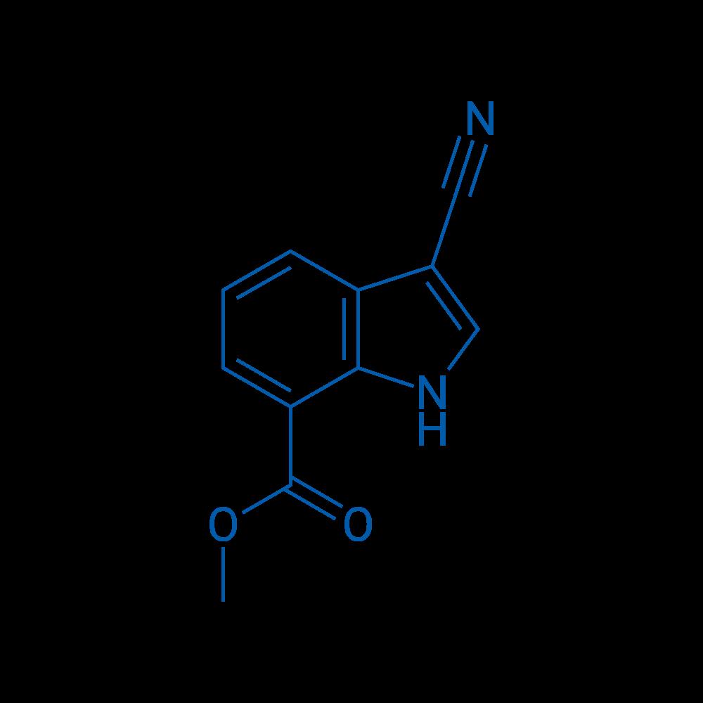 Methyl 3-cyano-1H-indole-7-carboxylate
