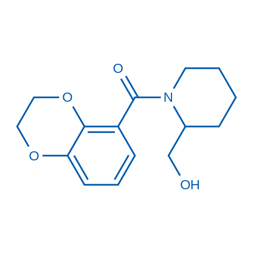 (2,3-Dihydrobenzo[b][1,4]dioxin-5-yl)(2-(hydroxymethyl)piperidin-1-yl)methanone