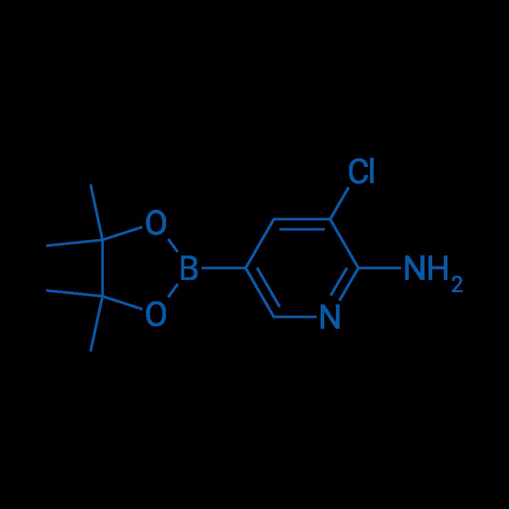3-Chloro-5-(4,4,5,5-tetramethyl-1,3,2-dioxaborolan-2-yl)pyridin-2-amine