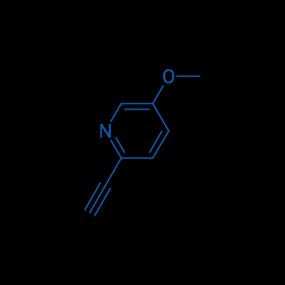 2-Ethynyl-5-methoxypyridine