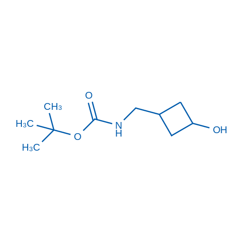 tert-Butyl ((3-hydroxycyclobutyl)methyl)carbamate