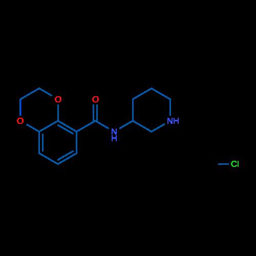 N-(Piperidin-3-yl)-2,3-dihydrobenzo[b][1,4]dioxine-5-carboxamide hydrochloride