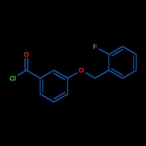 3-((2-Fluorobenzyl)oxy)benzoyl chloride