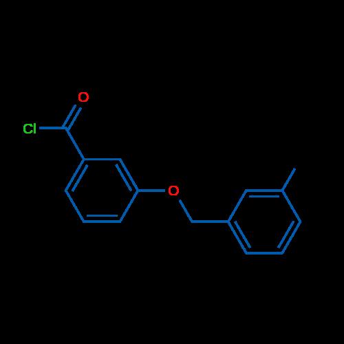 3-((3-Methylbenzyl)oxy)benzoyl chloride