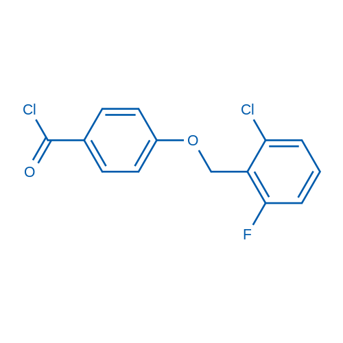 4-((2-Chloro-6-fluorobenzyl)oxy)benzoyl chloride