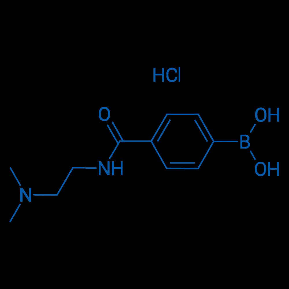 (4-((2-(Dimethylamino)ethyl)carbamoyl)phenyl)boronic acid hydrochloride