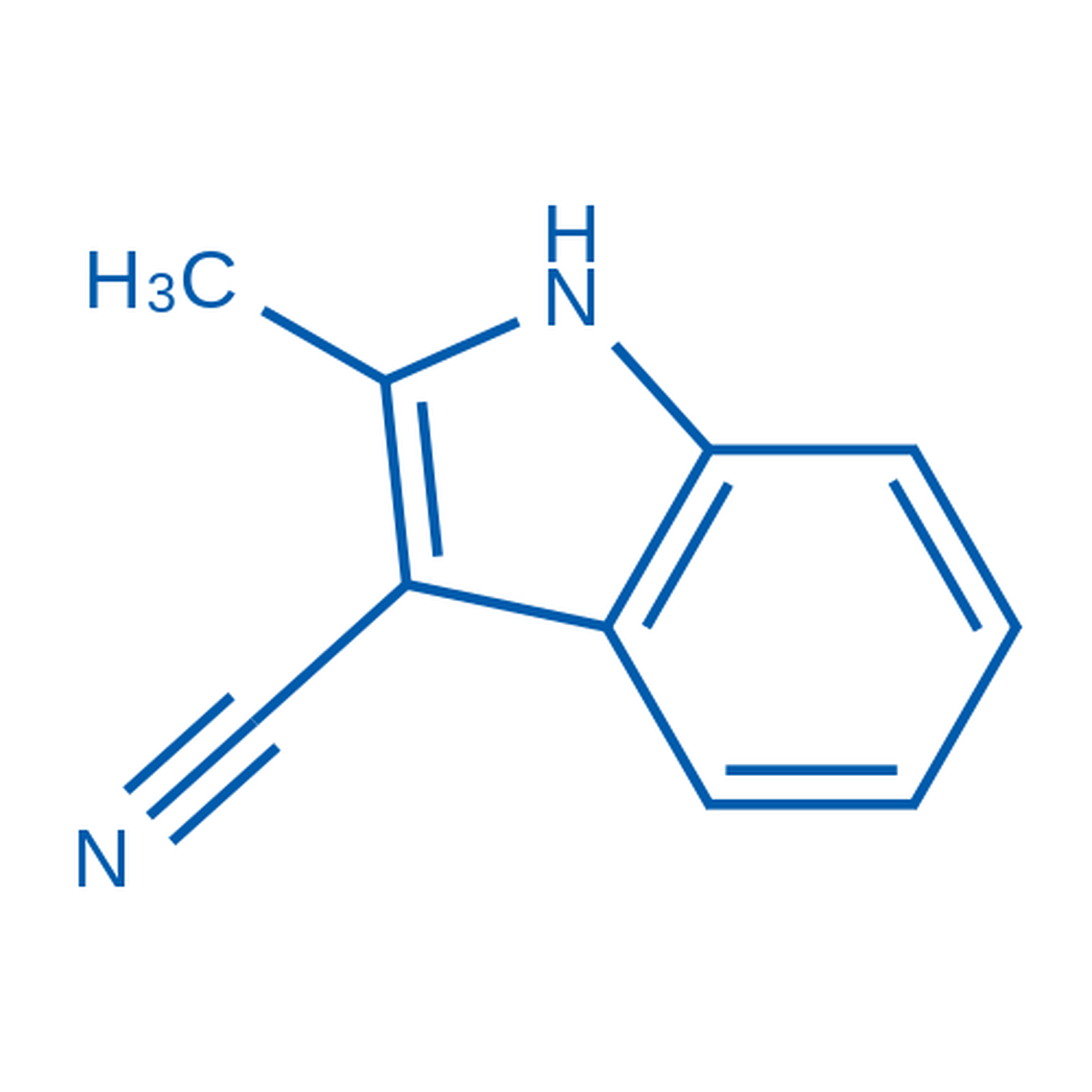 2-Methyl-1H-indole-3-carbonitrile