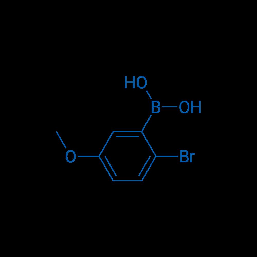 2-Bromo-5-methoxybenzene boronic acid