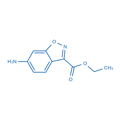 Ethyl 6-aminobenzo[d]isoxazole-3-carboxylate