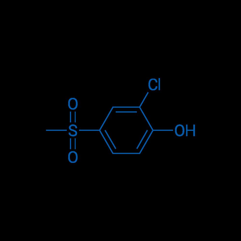2-Chloro-4-(methylsulfonyl)phenol