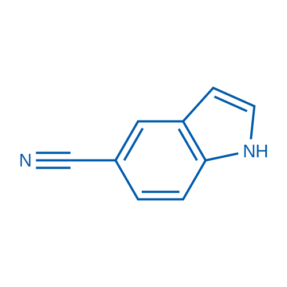 Indole-5-carbonitrile