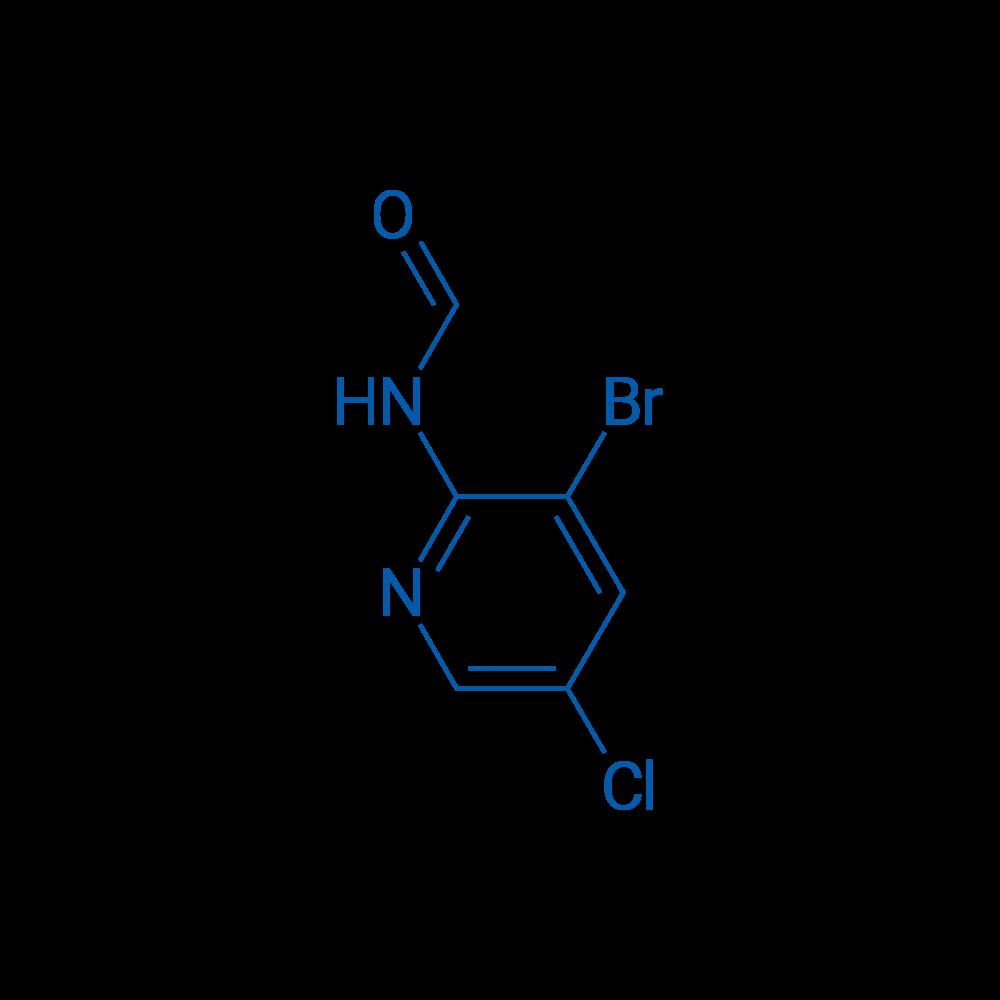N-(3-Bromo-5-chloropyridin-2-yl)formamide