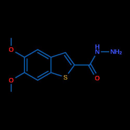 5,6-Dimethoxybenzo[b]thiophene-2-carbohydrazide