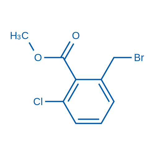 Methyl 2-(bromomethyl)-6-chlorobenzoate