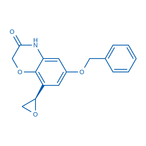 (R)-6-(Benzyloxy)-8-(oxiran-2-yl)-2H-benzo[b][1,4]oxazin-3(4H)-one