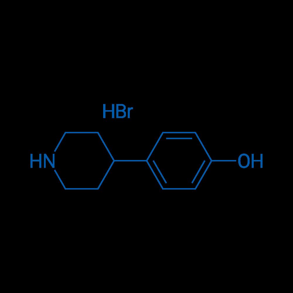 4-(Piperidin-4-yl)phenol hydrobromide