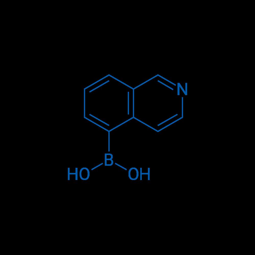 Isoquinolin-5-ylboronic acid