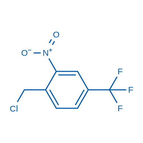 1-(Chloromethyl)-2-nitro-4-(trifluoromethyl)benzene