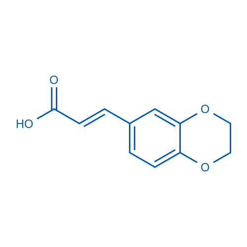 3-(2,3-Dihydrobenzo[b][1,4]dioxin-6-yl)acrylic acid