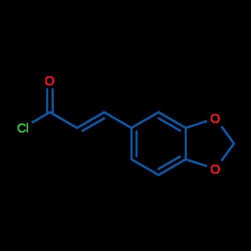 3-(Benzo[d][1,3]dioxol-5-yl)acryloyl chloride