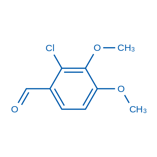 2-Chloroveratraldehyde