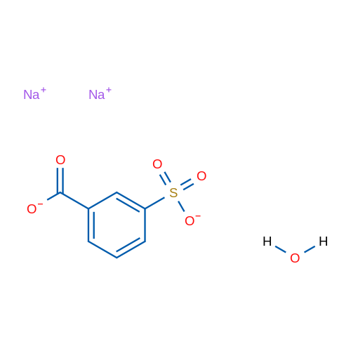 Sodium 3-sulfonatobenzoate hydrate