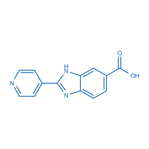 2-(Pyridin-4-yl)-1H-benzo[d]imidazole-6-carboxylic acid