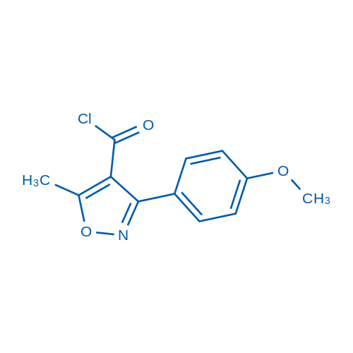 3-(4-Methoxyphenyl)-5-methylisoxazole-4-carbonyl chloride