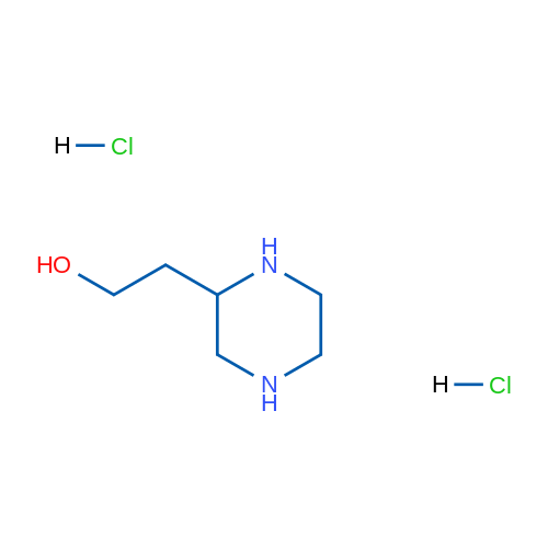 2-(Piperazin-2-yl)ethanol dihydrochloride