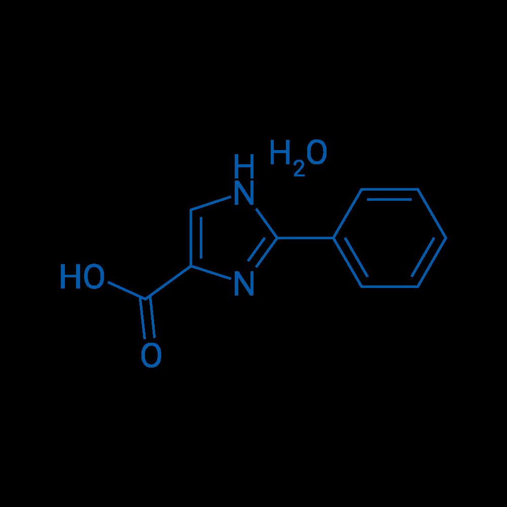 2-Phenyl-1H-imidazole-4-carboxylic acid hydrate