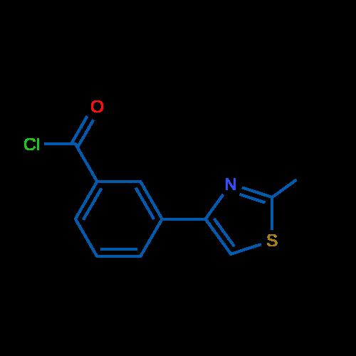 3-(2-Methylthiazol-4-yl)benzoyl chloride