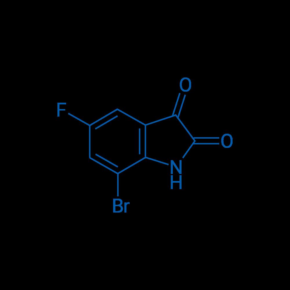 7-Bromo-5-fluoroindoline-2,3-dione